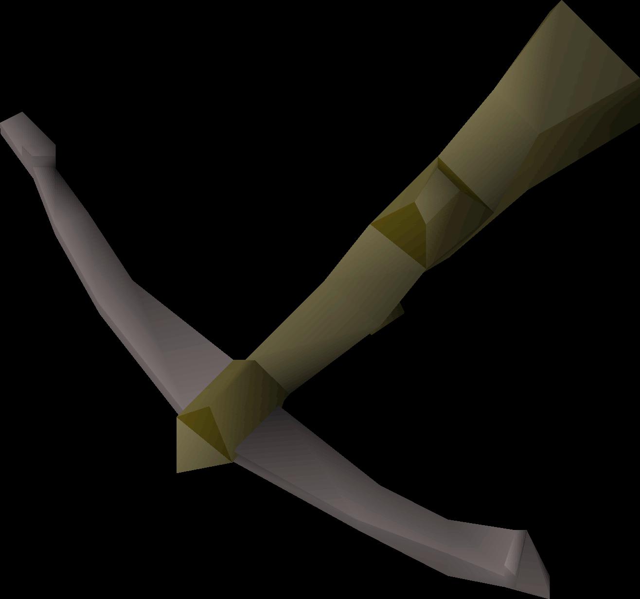 Iron crossbow (u)