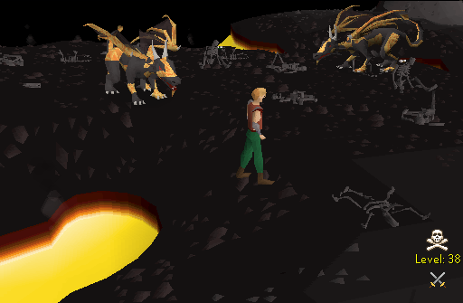 Money making guide/Killing lava dragons
