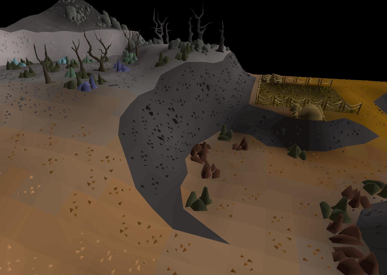 Fossil Island mine