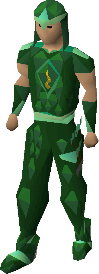 Guthix blessed d'hide armour
