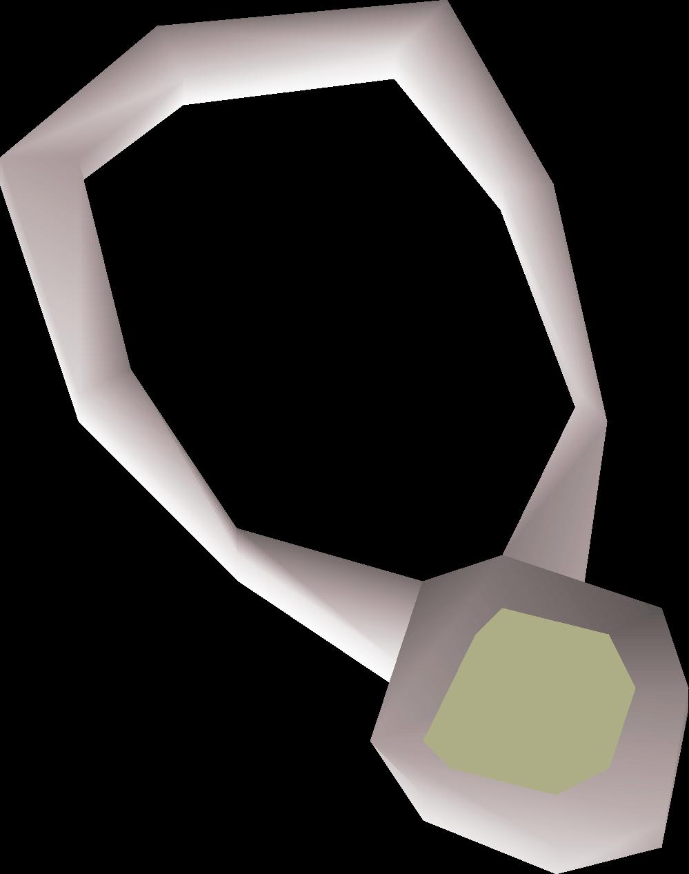 Opal amulet