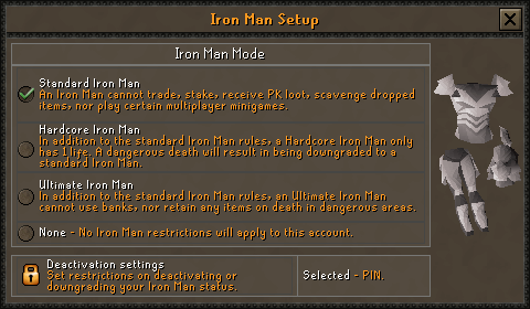 Ironman Mode