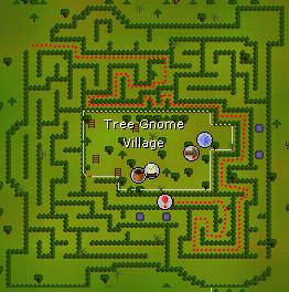 Tree Gnome Village dungeon
