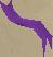 Purple rainbow strand
