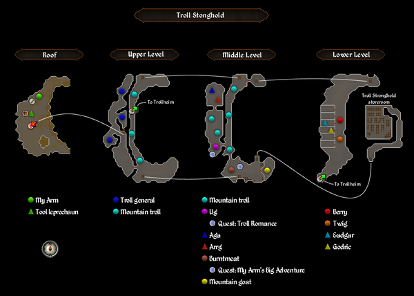 Troll Stronghold dungeon map.png