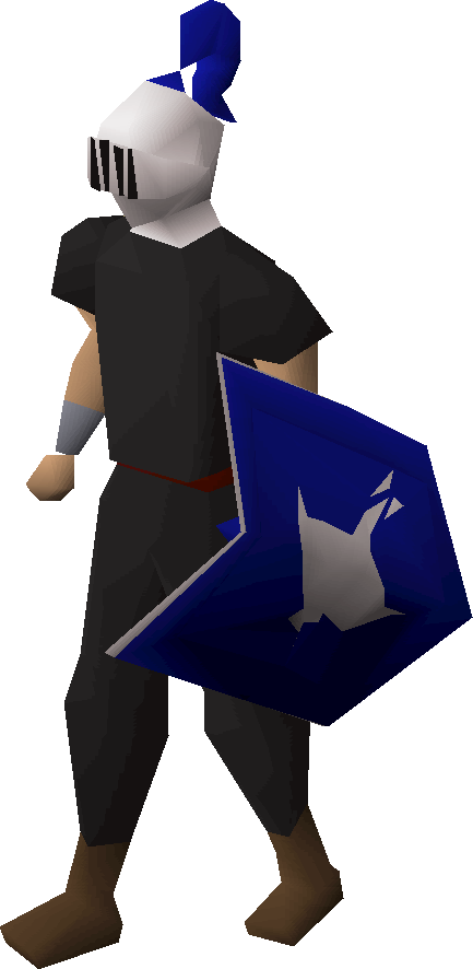 Adamant heraldic helm (Arrav)