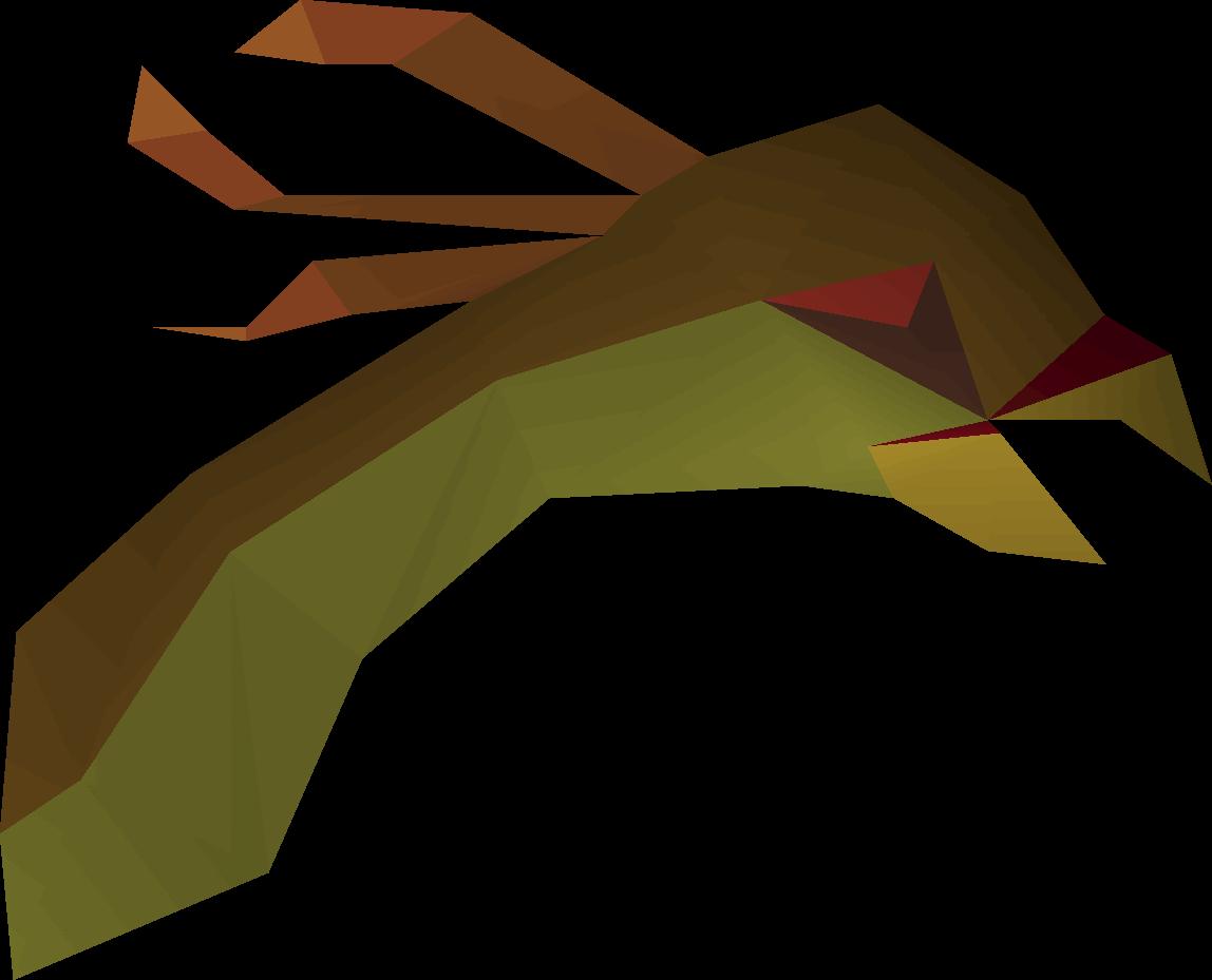 Cockatrice head
