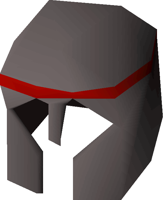 Iron med helm