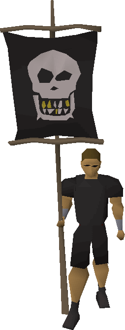 Guilded smile flag