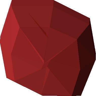 Uncut ruby