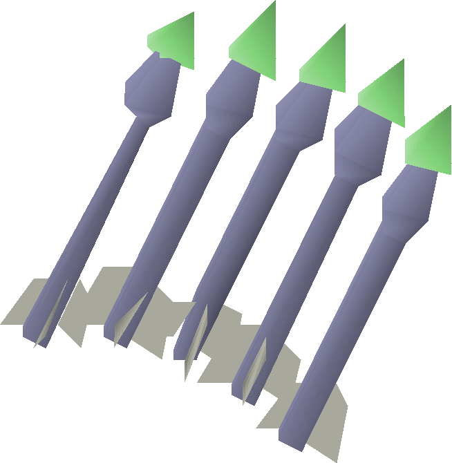 Emerald bolts