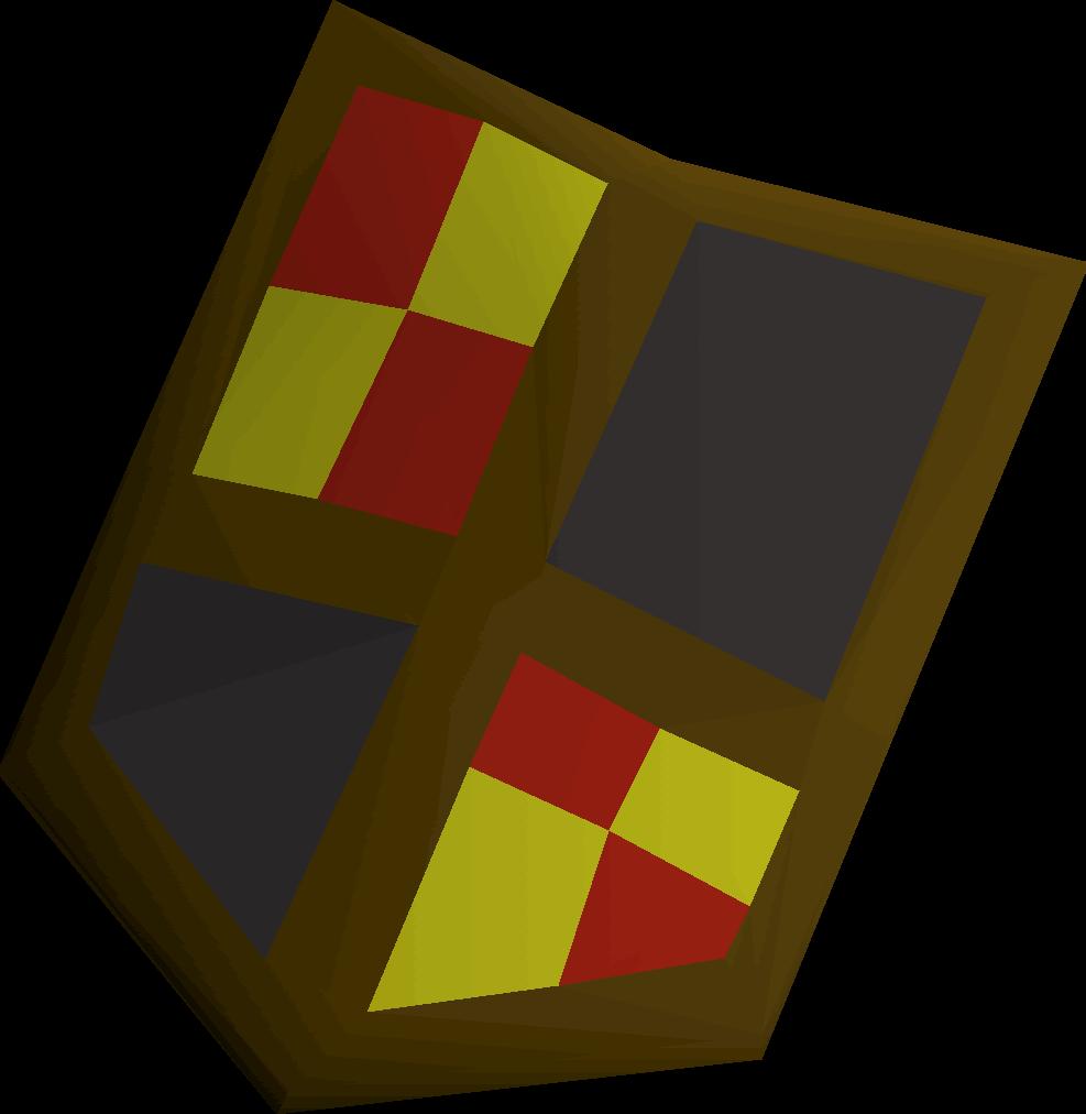 Black shield (h3)
