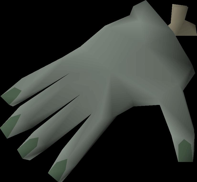Stuffed crawling hand