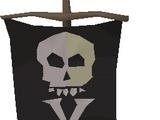 Treasure flag