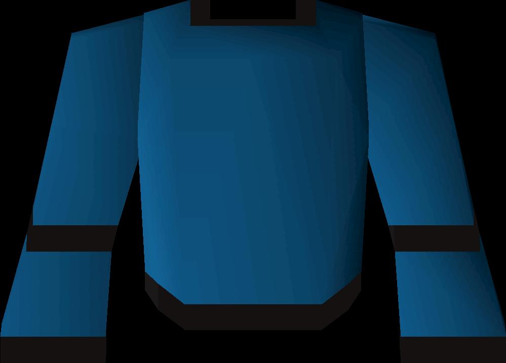Blue wizard robe (t)