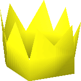 Yellow partyhat