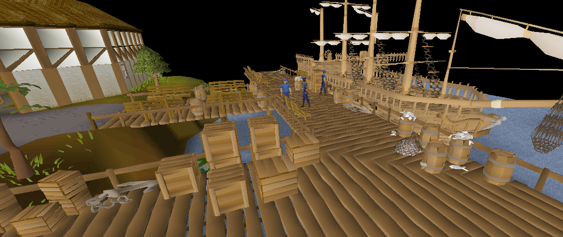 Runescape Christmas 2020 Takes You To The Port Port Sarim | Old School RuneScape Wiki | Fandom