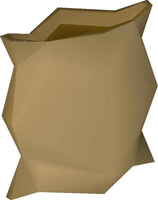 Empty sack