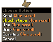 Clue Scroll Step Counter