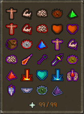 The Prayer interface (click to enlarge).