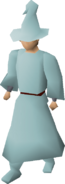 Turquoise robes equipped