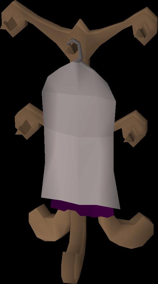 Mahogany cape rack