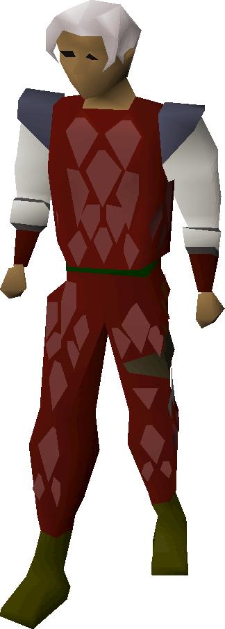 Red d'hide body
