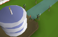 OSRS 1st birthday cake