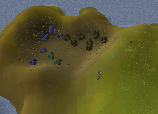 West Lumbridge Swamp mine