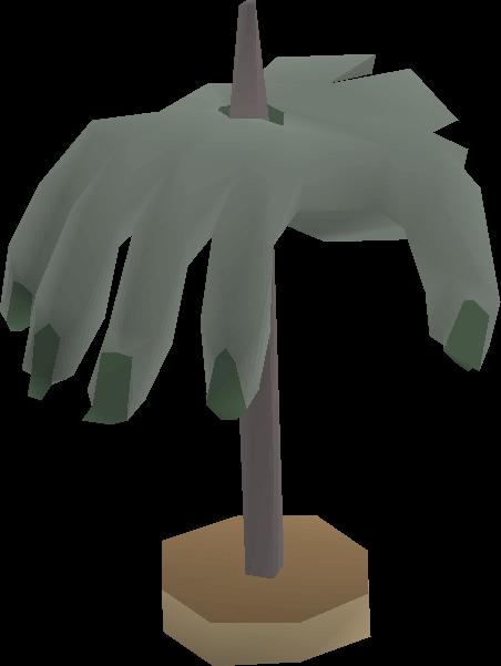 Crawling hand (mounted)