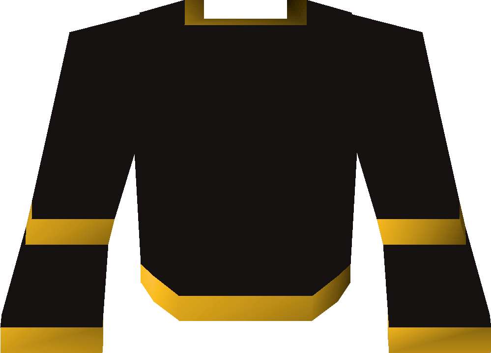 Black wizard robe (g)