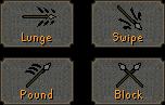 Anger spear