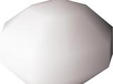 White bead