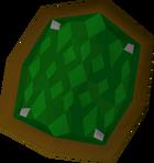 Green d'hide shield detail.png