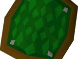 Green d'hide shield