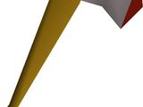 Steel axe