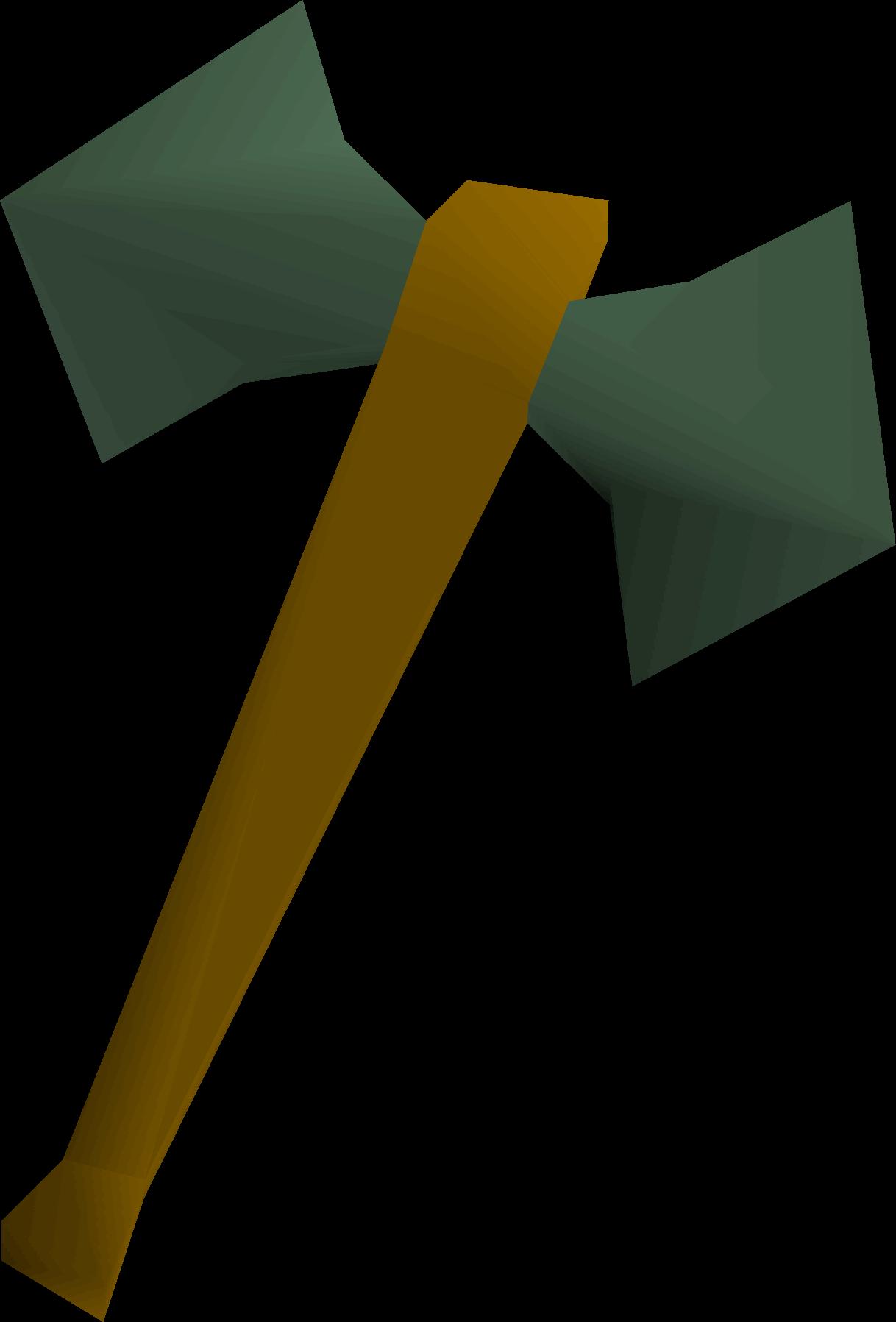 Adamant battleaxe