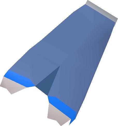 Mystic robe bottom (blue)