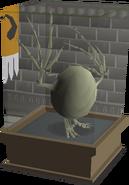 Wyvern Egg display