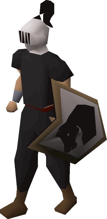 Adamant heraldic helm (Horse)