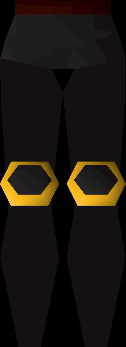 Black platelegs (g)
