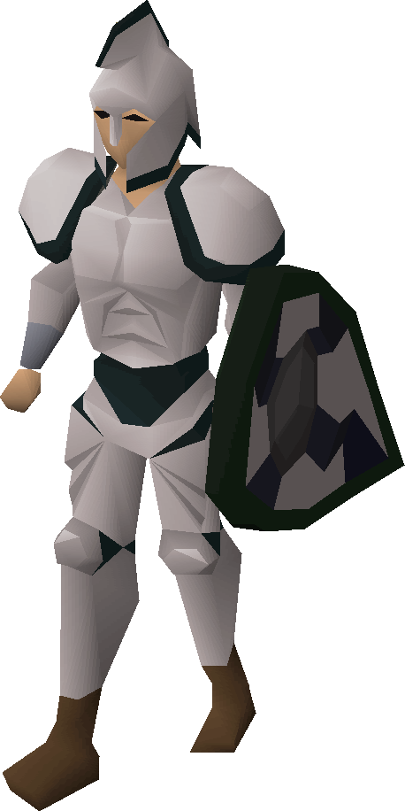 3rd age melee equipment