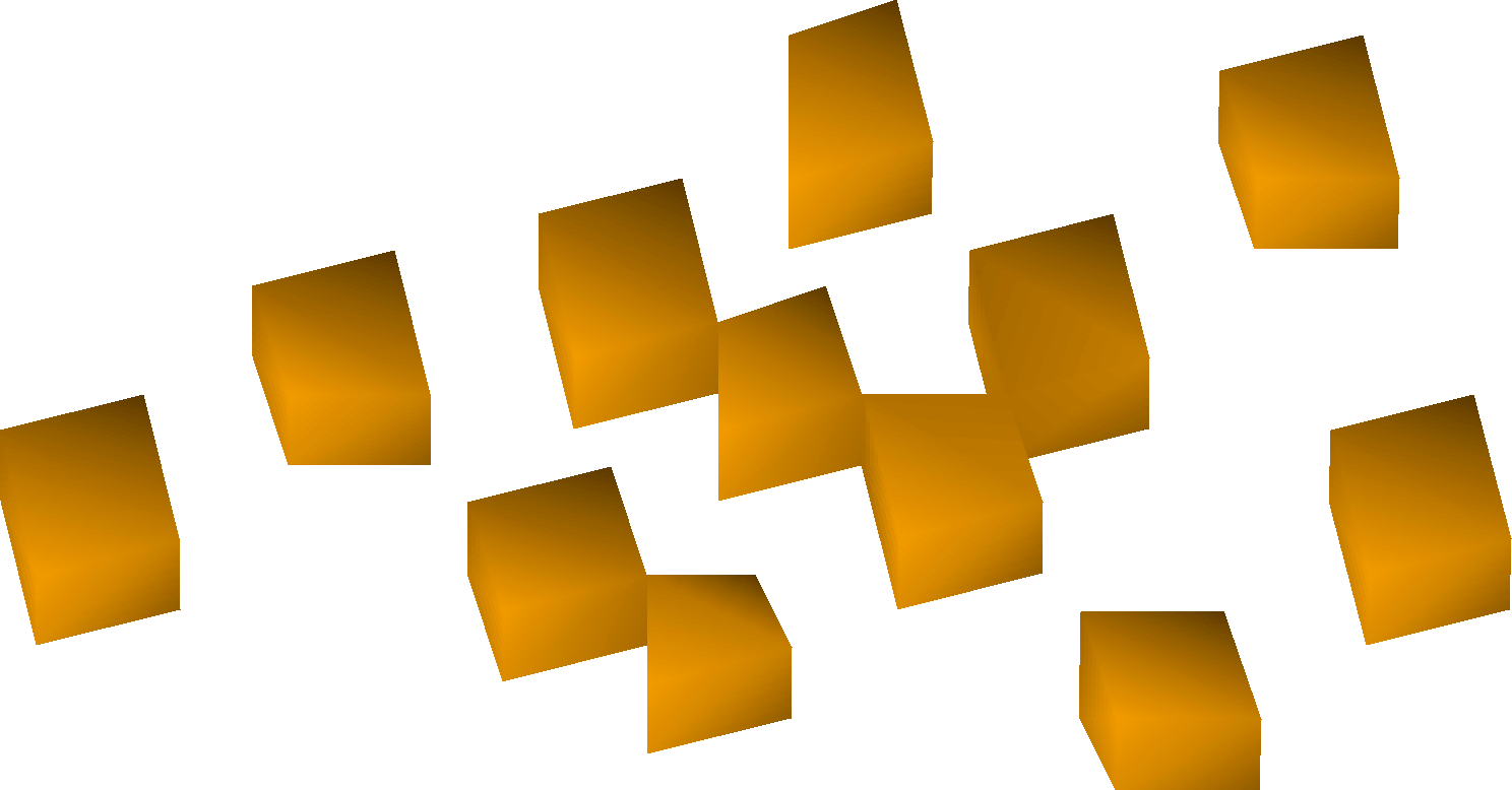 Orange chunks