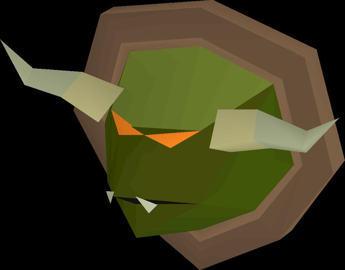 Kurask head (mounted)