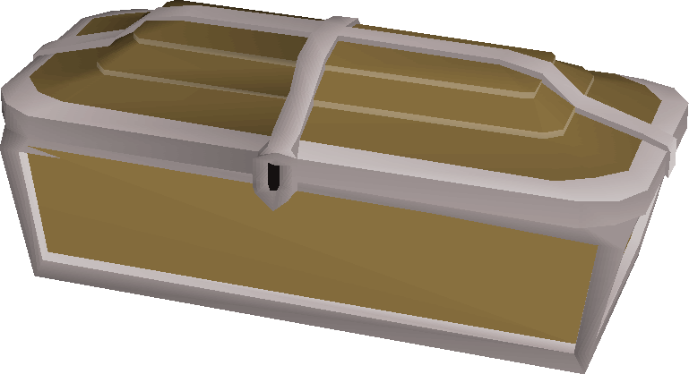 Teak treasure chest