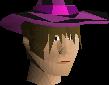 Dark infinity hat