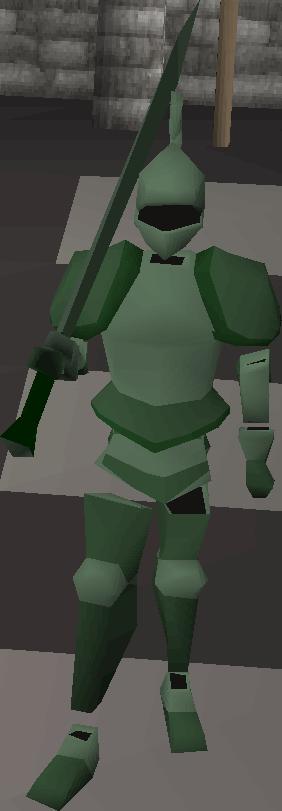 Animated Adamant Armour