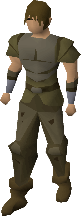 Frog-leather armour
