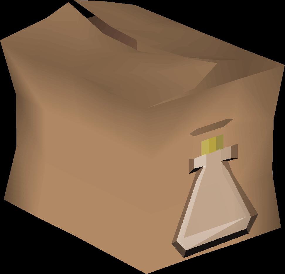Empty vial pack