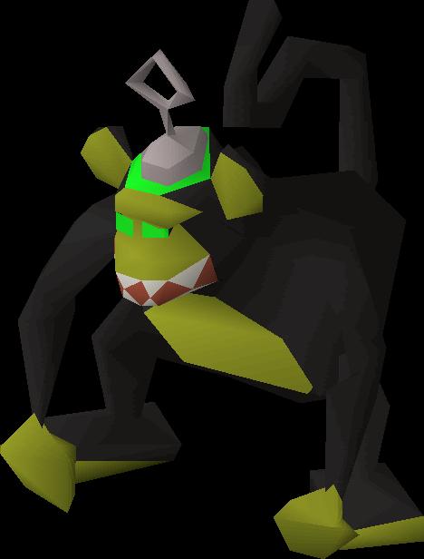 Maniacal monkey (Hunter)